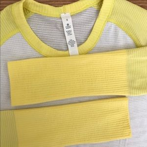 Lululemon Long Sleeved Swiftly Tech Shirt
